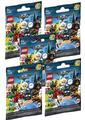 Lego Minifigures 2018 Batman The Movie 5 pak, Lego - LEGO Batman Minifigurer 71020